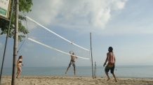 Volley Ball in Baan Tai