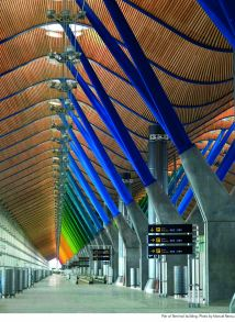 Barajas Airport in Spain