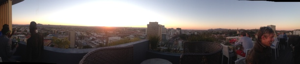 Sunset from the Hilton Hotel