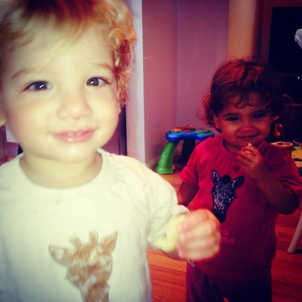 My two little cousins Enzo and Nina