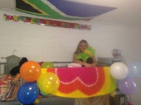 birthday bunk bed